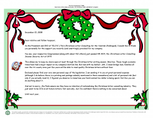 2008 Christmas Letter Introduction